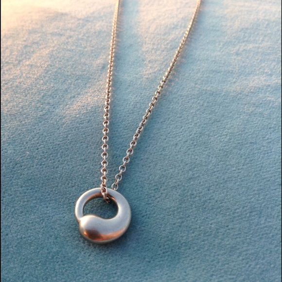Selling this elsa peretti tiffany co eternal circle necklace selling this elsa peretti tiffany co eternal circle necklace in my poshmark closet mozeypictures Image collections