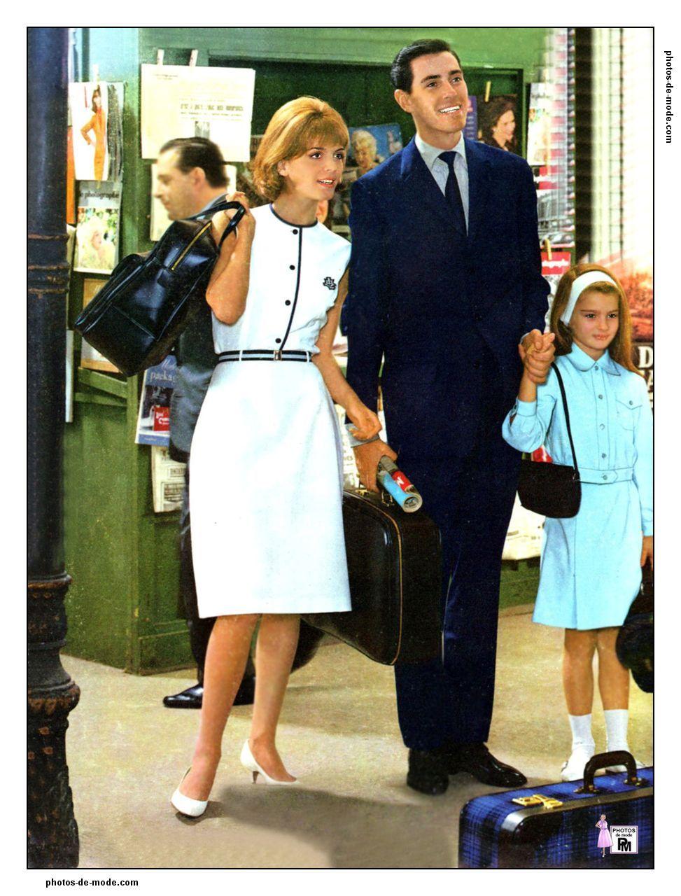 mode ann es 60 1964 vintage dress 60 39 s retro fashion. Black Bedroom Furniture Sets. Home Design Ideas