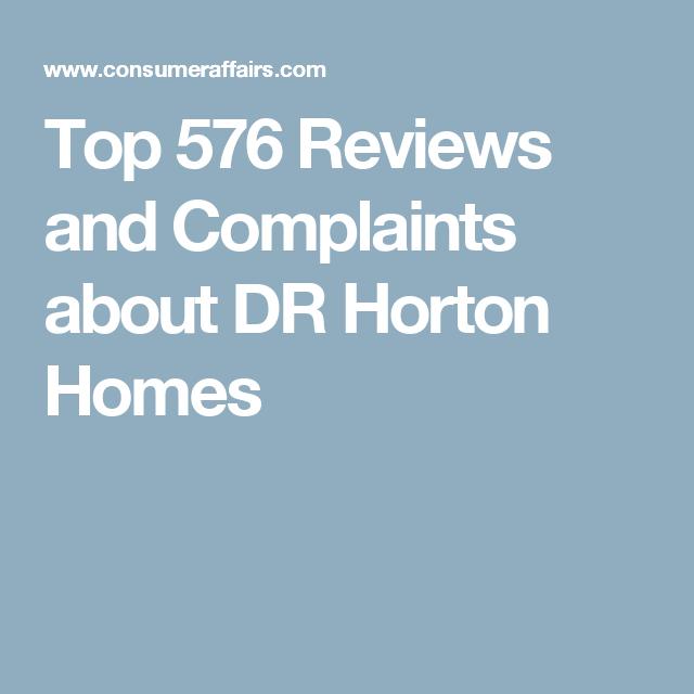 Top 576 Reviews And Complaints About Dr Horton Homes Dr Horton Homes Horton Homes Pet Insurance