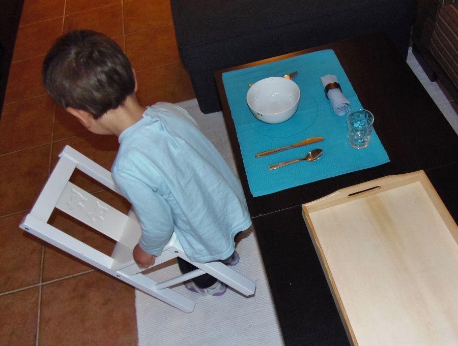 Montessori en Casa - salvamanteles