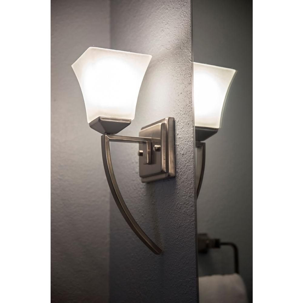 Design House Torino 1-Light Satin Nickel Extended Wall Mount Sconce on vera wang princess collection, the british museum collection, sherri hill collection, nice collection, trump hotel collection, victoria collection,