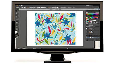 Cursos | Digital Pattern en Illustrator