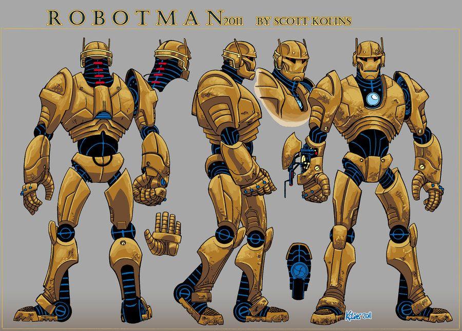 Robotman Doom Patrol Superhero Art Hero Arts