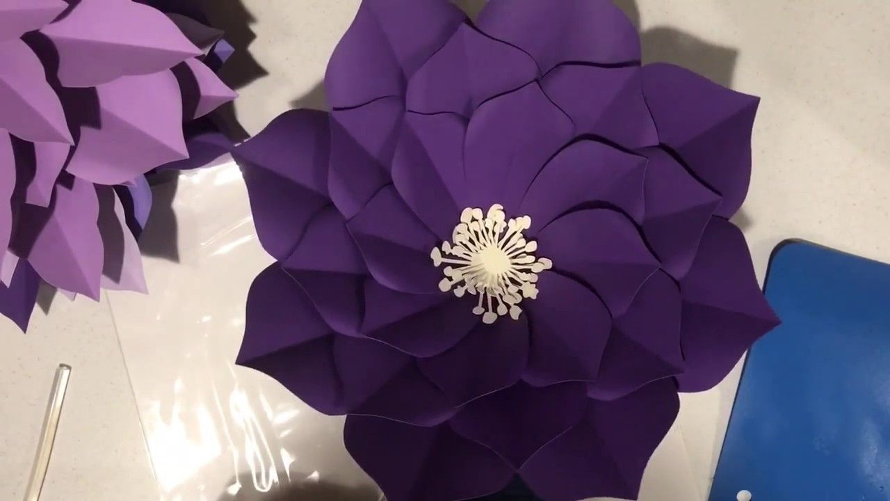 Plumeria Giant Paper Flower Tutorial By Seattle Giant Flowers