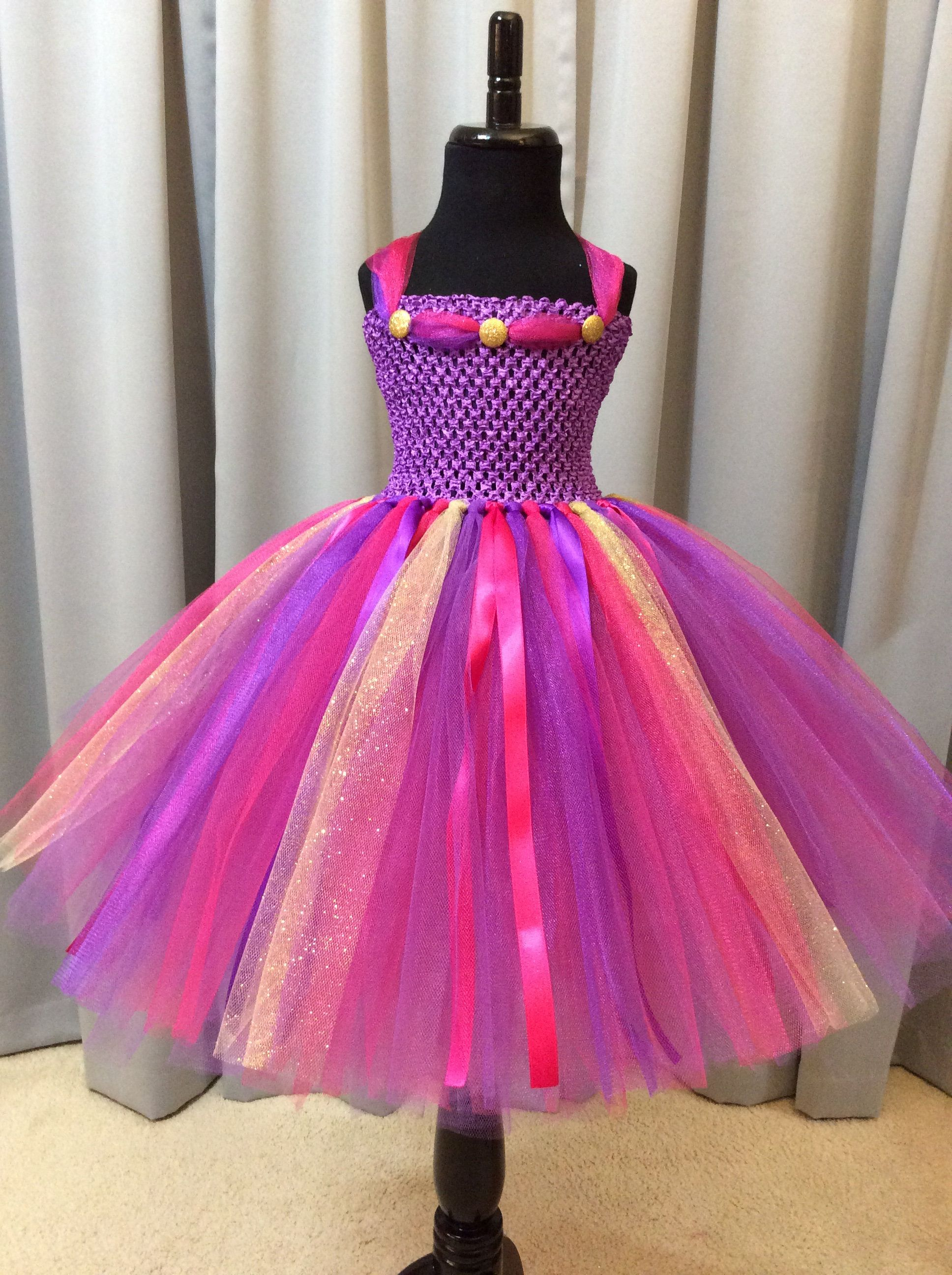 Purple Fuchsia Gold Princess Tutu Dress Tutu Dress For Etsy Princess Dress Up Princess Tutu Dresses Princess Tutu Dress [ 2592 x 1936 Pixel ]