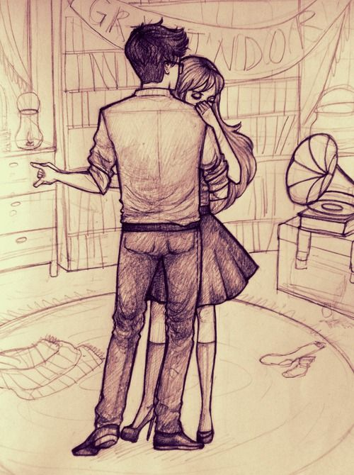 James and Lily dancing | jily | Pinterest | Hechizos de harry potter ...