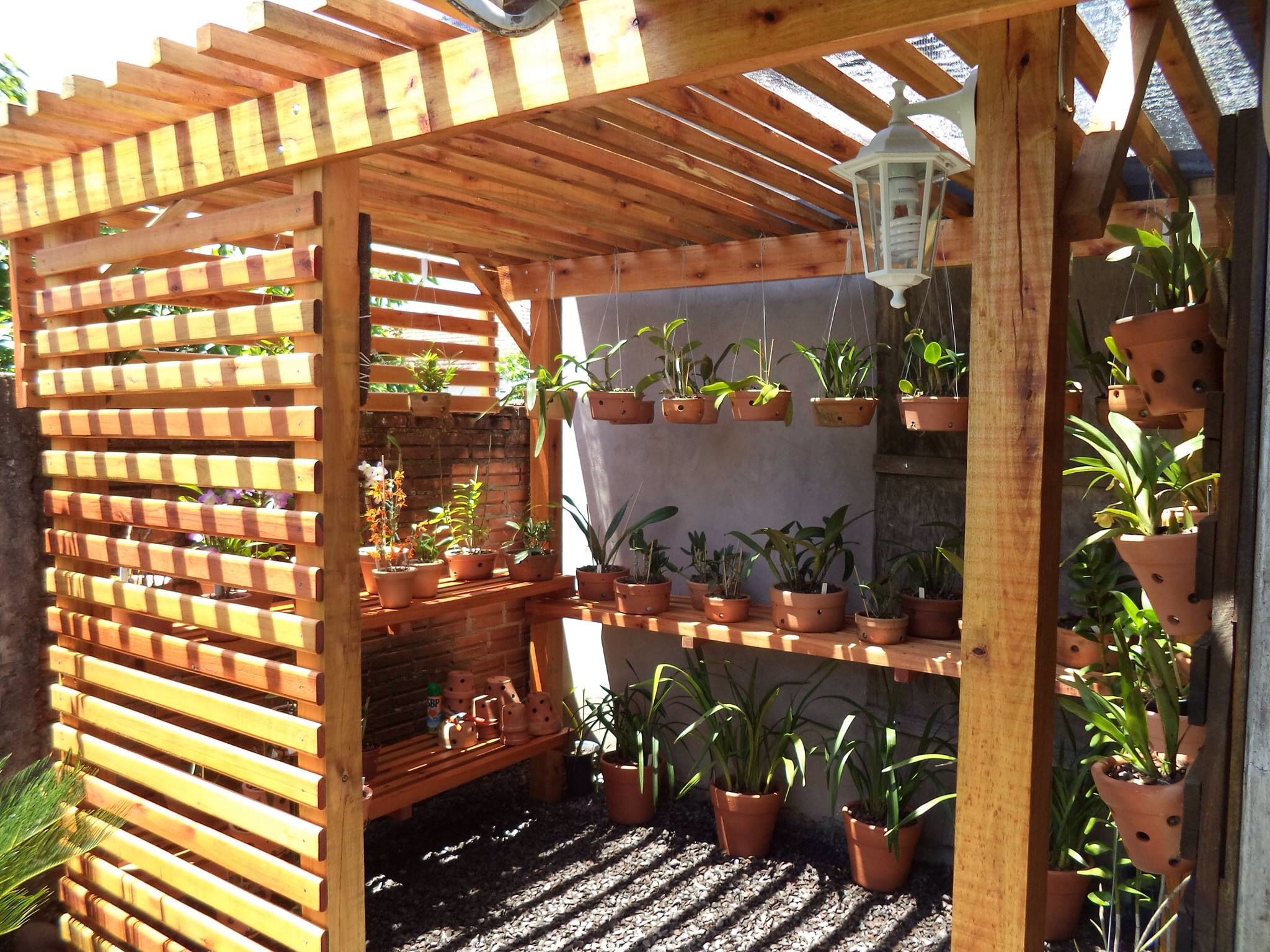 Orchid House Orquidiario Orchids Orquidea Terrarium Garden Jardin Greenhouse Display Shade House Orchid House Planting Flowers Backyard shade house designs