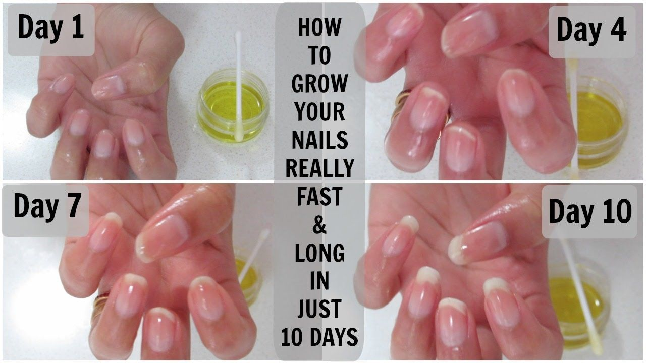 How To Grow Your Nails Really Fast And Long In Just 10 Days Mamtha Nair How To Grow Nails Strong Nails Grow Nails Faster