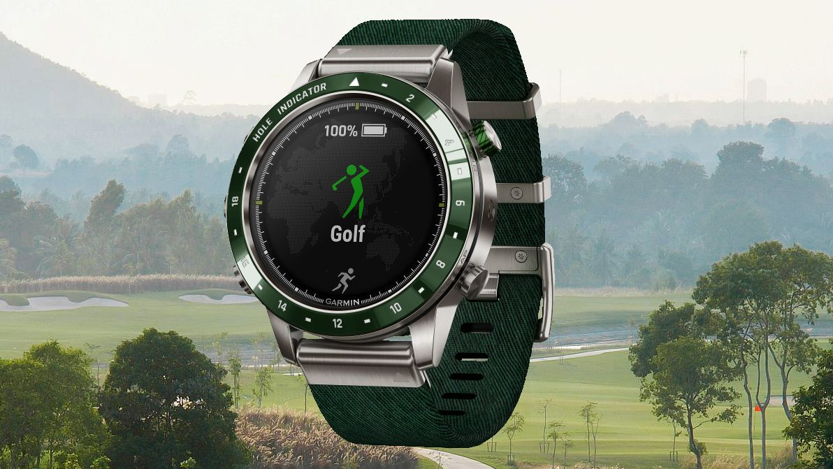 Garmin launches deluxe golf watch with maps for 41,000
