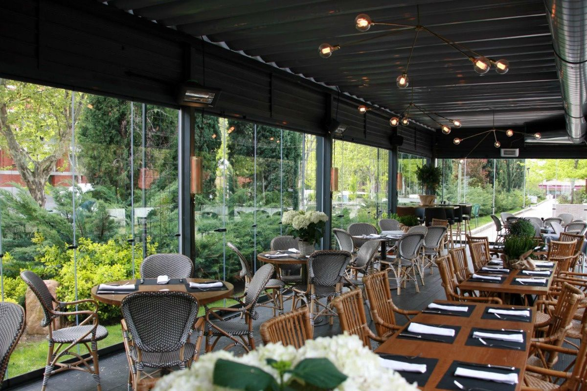 Lobbo pr ncipe de vergara 181 madrid pinterest terrazas terrazas madrid and restaurantes - Oficinas santa lucia madrid ...