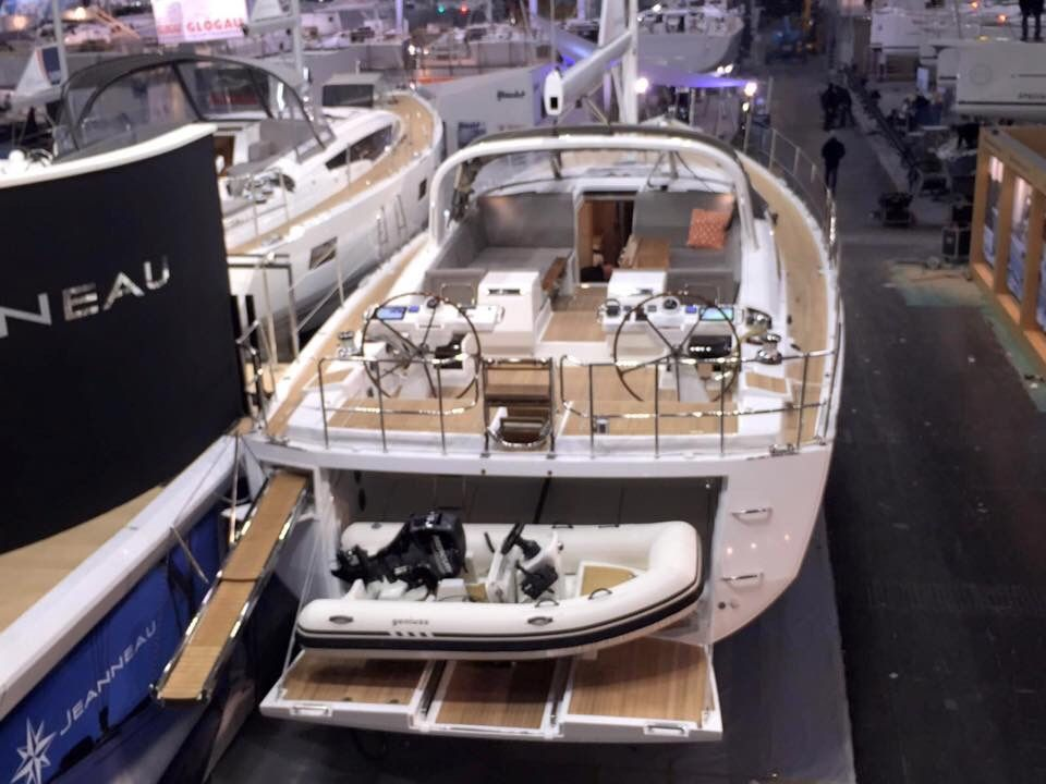 The #Jeanneau64 #sailing #yacht on display at the Düsseldorf boat show. Contact me for additional information