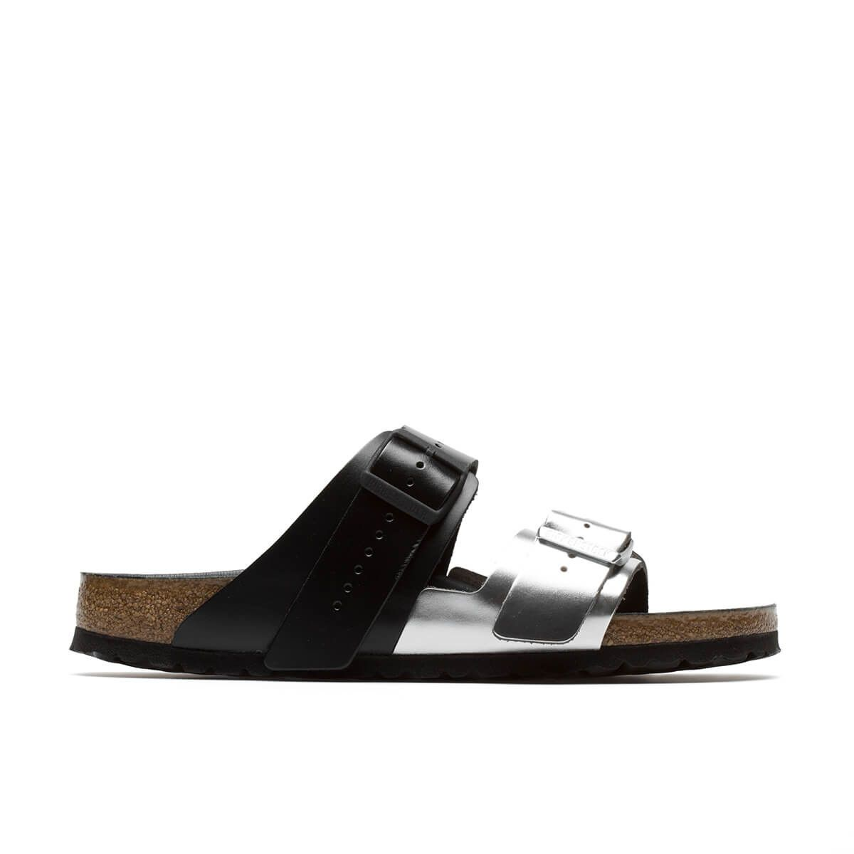 998d5f8738d Arizona Combo sandals from the Rick Owens x Birkenstock collection in black  and silver