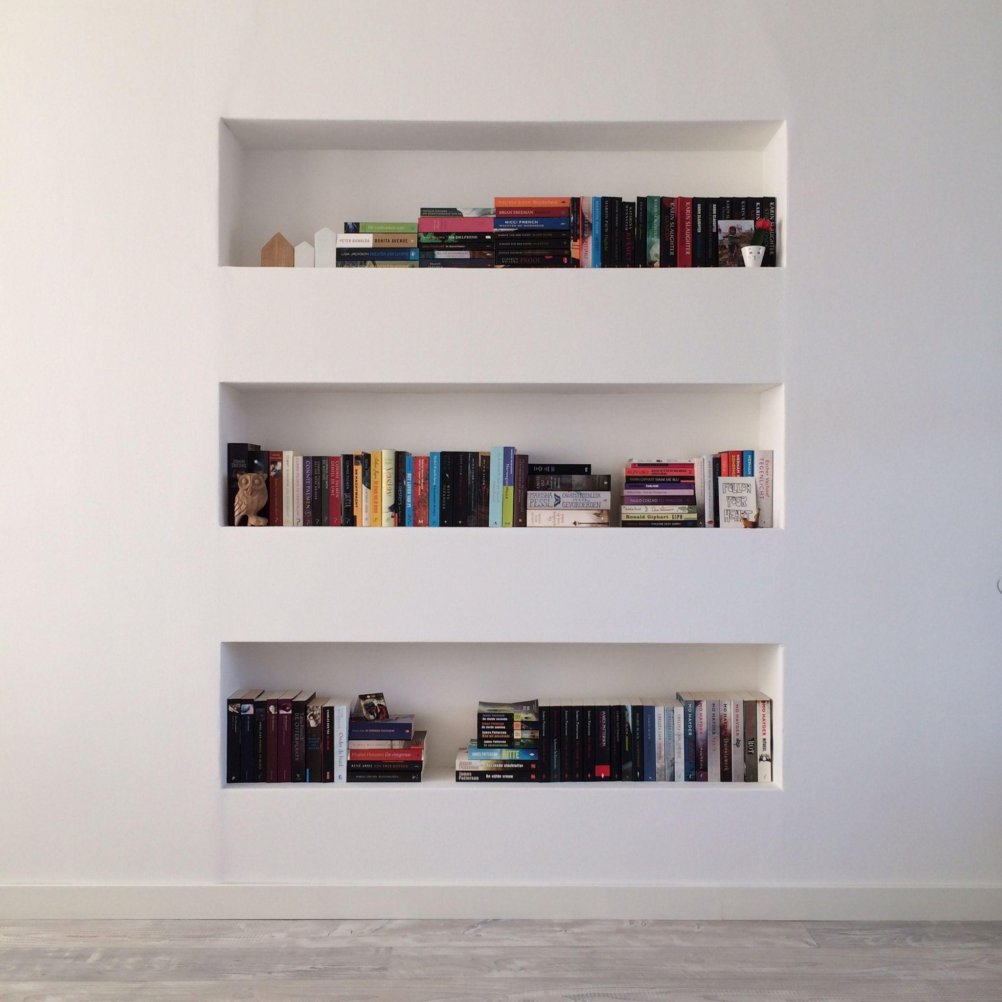 Nissen in de muur bookshelves pinterest mussels and interiors