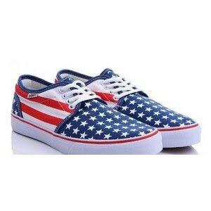 a62fa8ff1 Vans bandera de USA
