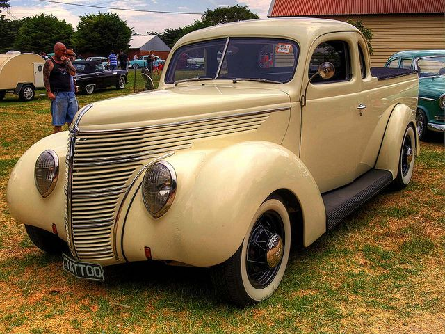 1938 Australian Ford Standard Coupe Utility American Pickup