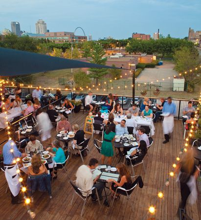 The Best Restaurant Showdown St Louis Rooftop Bar St Louis Wedding
