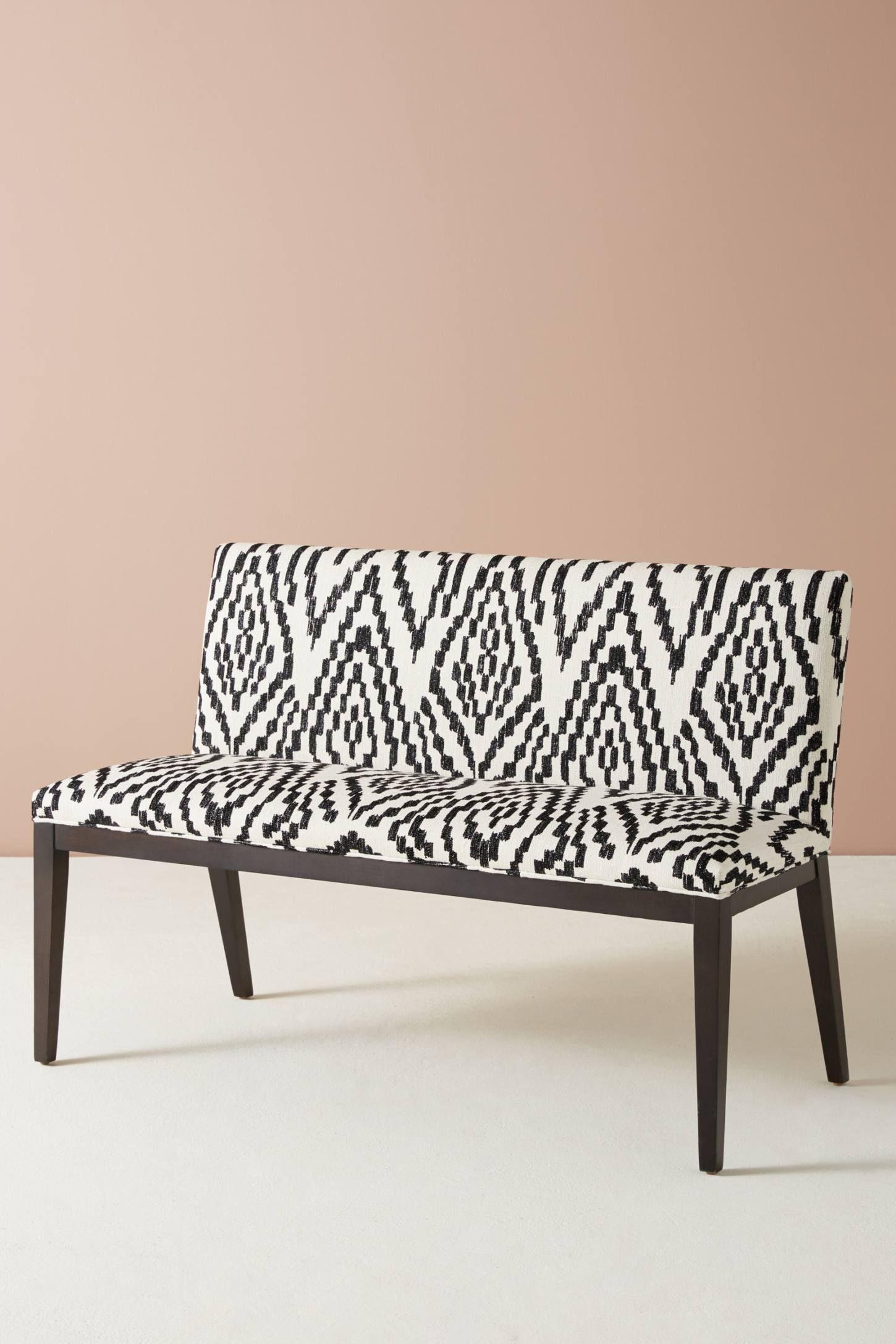 Astonishing Maura Printed Emrys Bench Cassie Dining Room Bench Ibusinesslaw Wood Chair Design Ideas Ibusinesslaworg