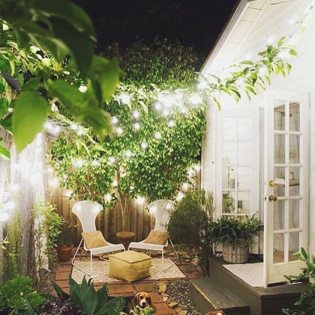 tiny garden style #inspo #outdoorspaces via ...