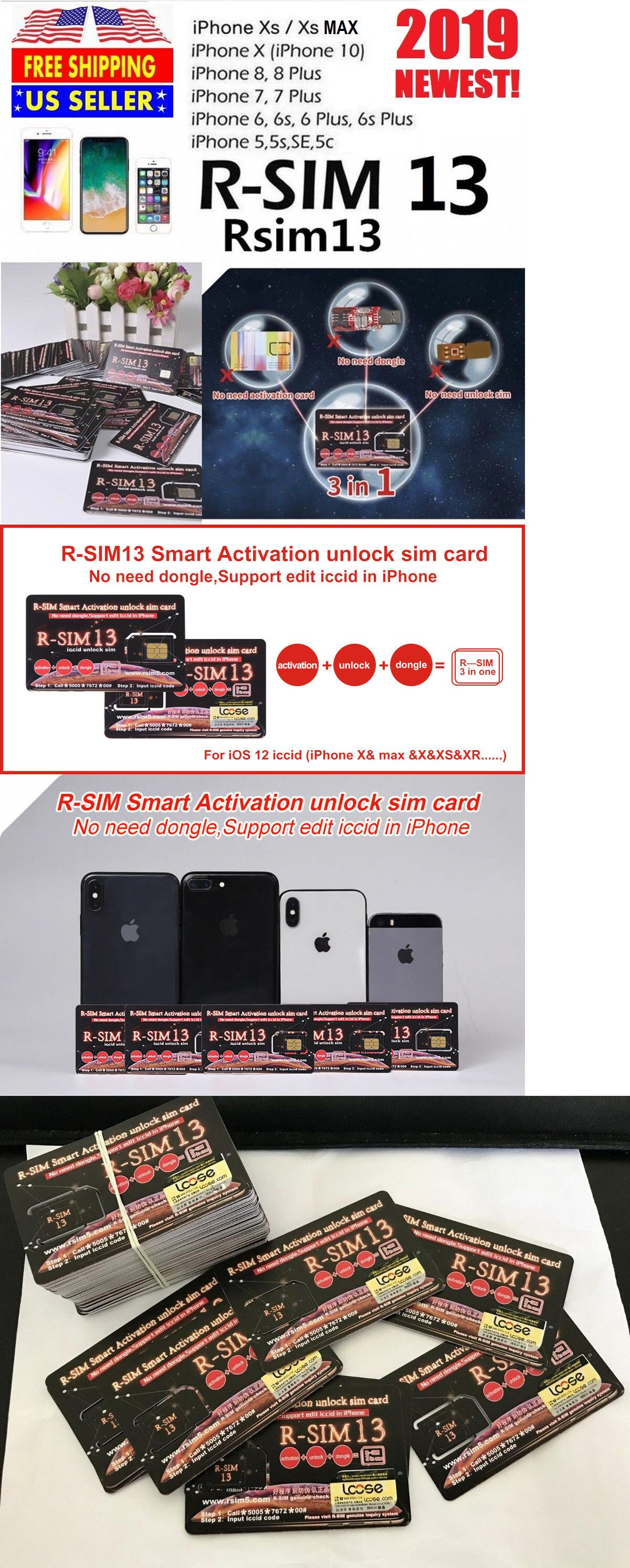 Phone Cards and SIM Cards 146492: R-Sim Rsim 13 2019 Nano