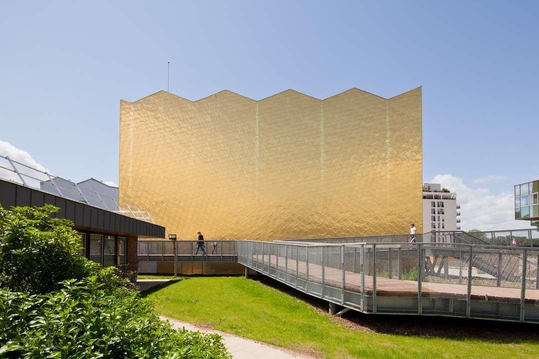 The Midas Touch: 10 Golden Façade Designs - Architizer