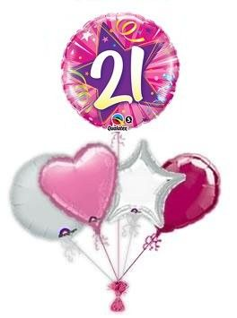 21st Birthday Mylar Balloons 60th Parties 21