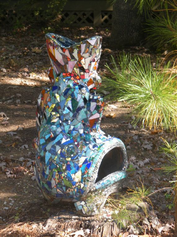 Attractive Large MOSAIC FISH CHIMINEA By SeaJaneStudios On Etsy, $7500.00
