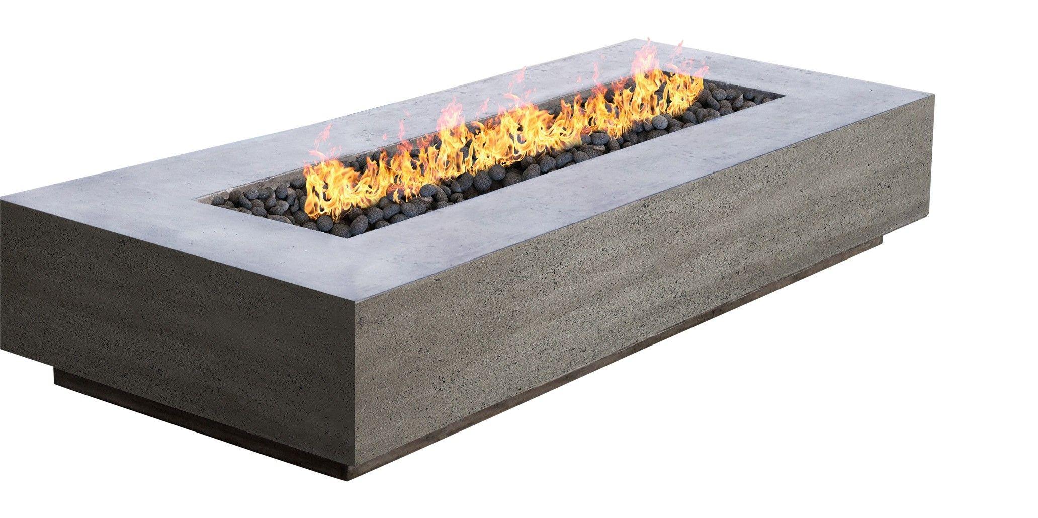 Tavola V Modern Outdoor Fire Pit Rectangle Gas And Propane Fire Pit Modern Outdoor Firepit Outdoor Fire Pit Outdoor Fire