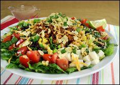 Brilliant Hungry Girl Bbq Chicken Chopped Salad 367Cal For Entire Interior Design Ideas Skatsoteloinfo