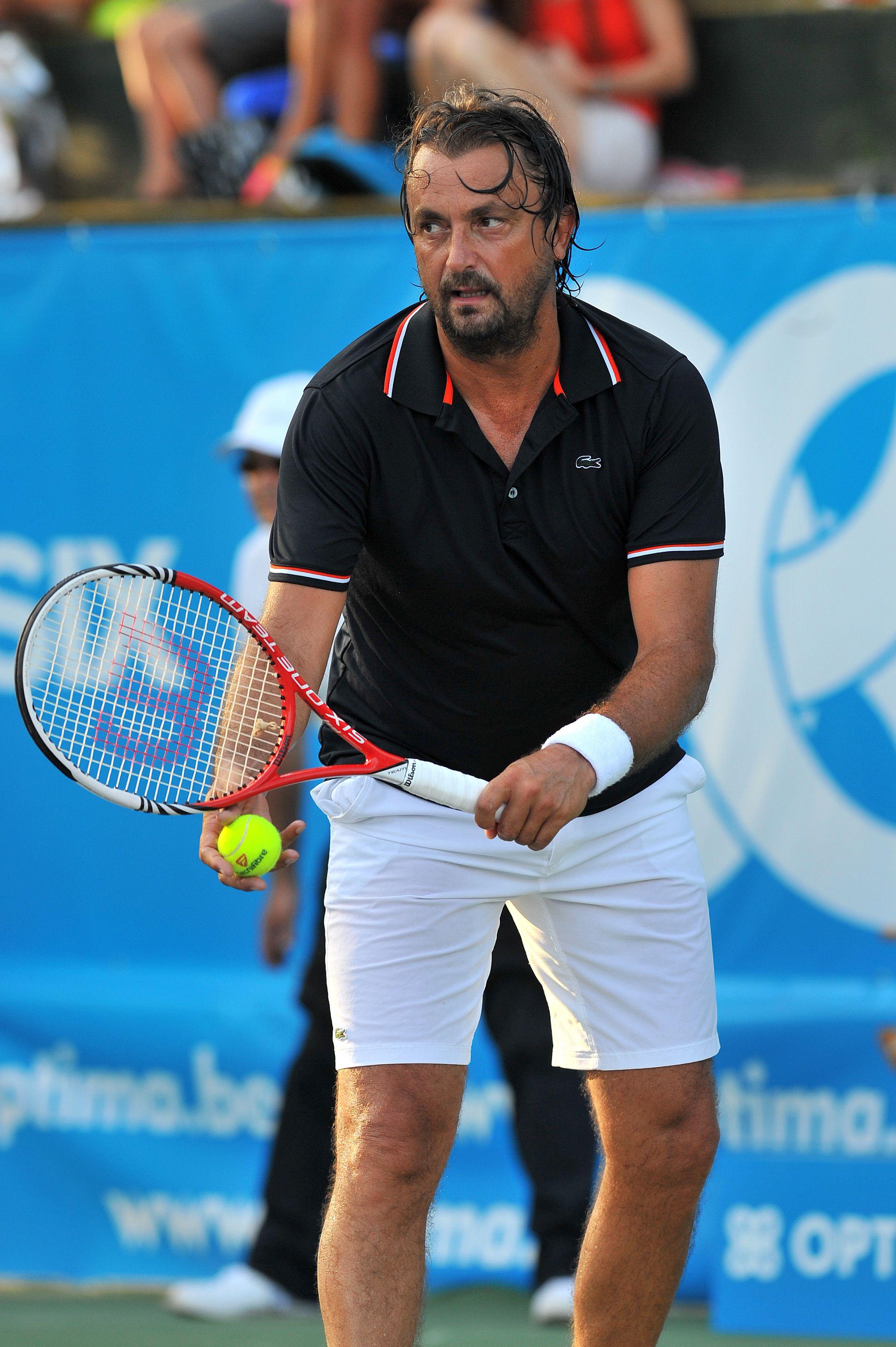 Henri Leconte at Optima Open 2012 | Tennis players, Tennis