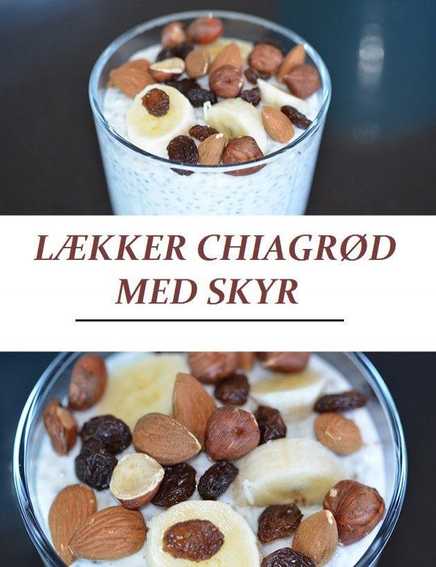 Ultra nem og sund morgenmad, der smager som dessert. Smager fantastisk toppet med knasende nødder og frugt.