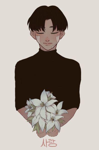 Falling Hair Haircut Wallpaper Korean Words Tumblr Art In 2019 Korean Art Korean