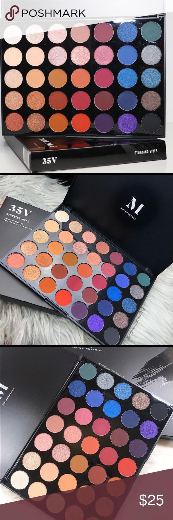 New Morphe 35V Stunning Vibes artistry palette Brand new