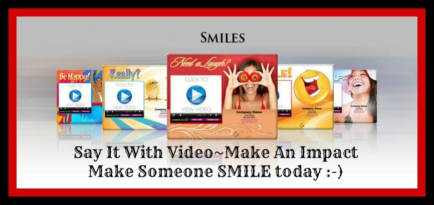 New ready-to-use video templates~ Make someone #SMILE today when you Say It With Video ! www.talkfusion.com/1152712