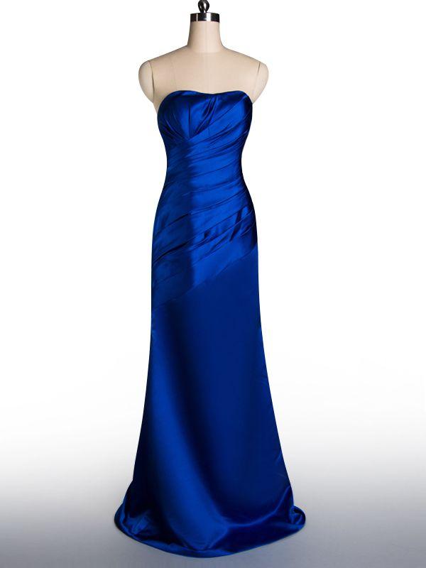 Cobalt Blue Bridesmaid Dress