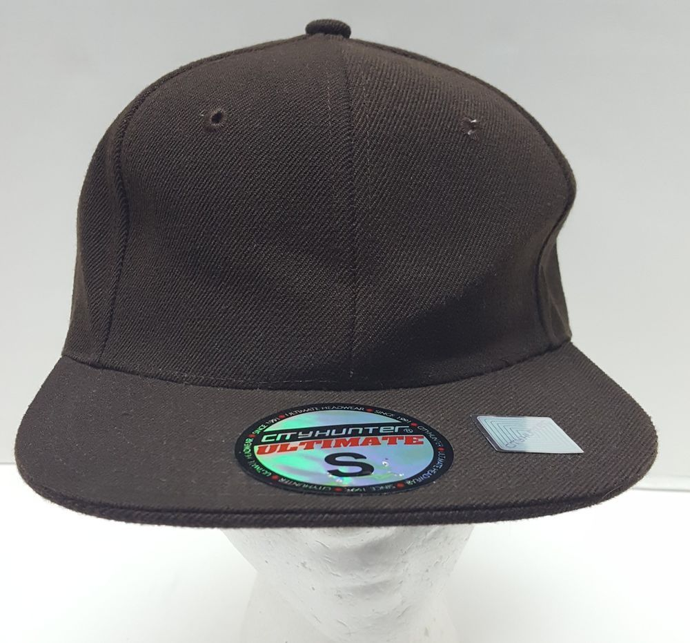 City hunter ultimate hat brown fitted size small