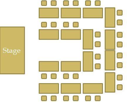 classroom layout u shape - Google Search e s l Pinterest - classroom seating arrangement templates