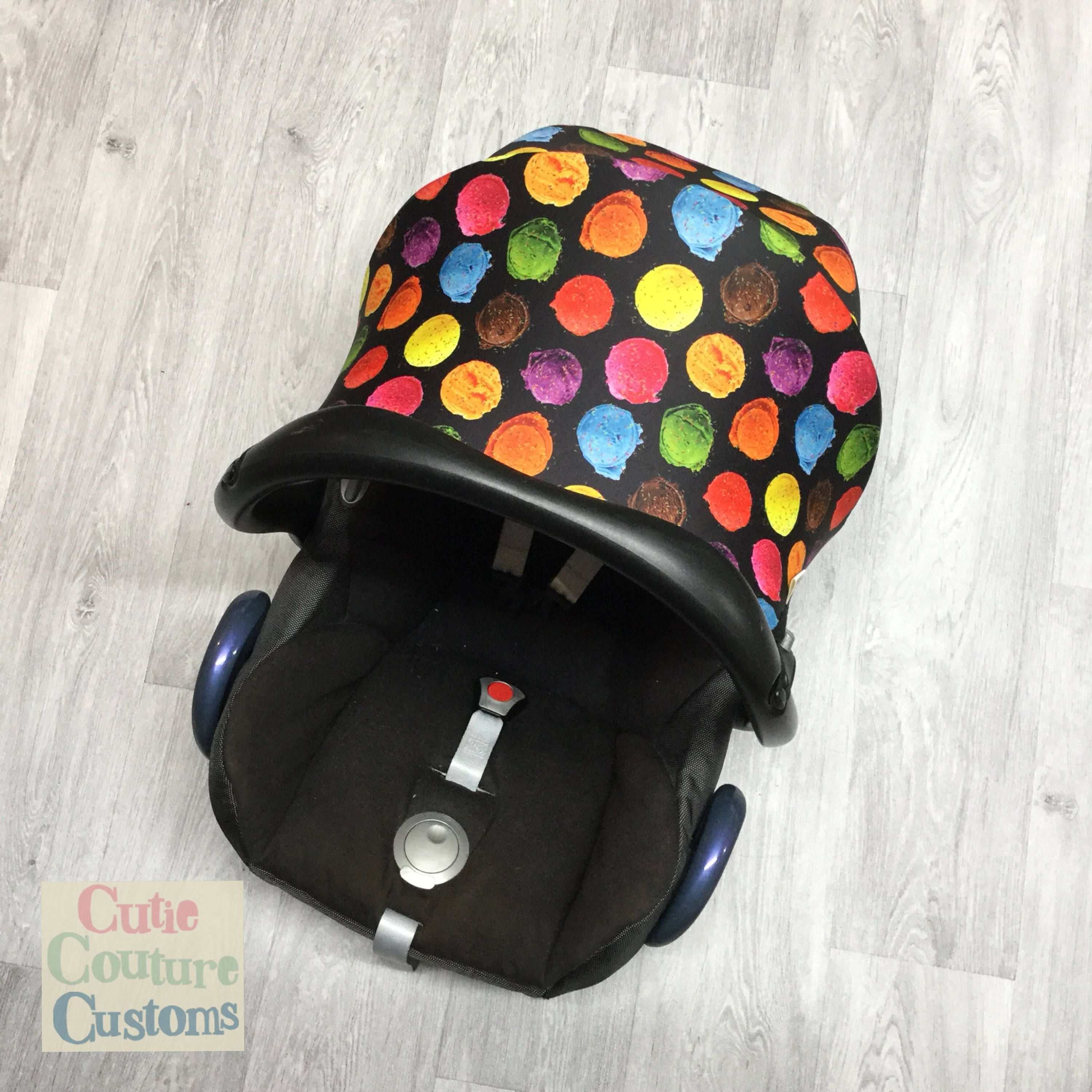 Custom Car Seat Hood / Maxi Cosi Carseat