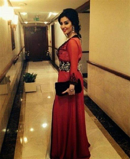 قفطان وعبايات ميساء مغربي بالصور Moroccan Caftan Red Formal Dress Traditional Outfits