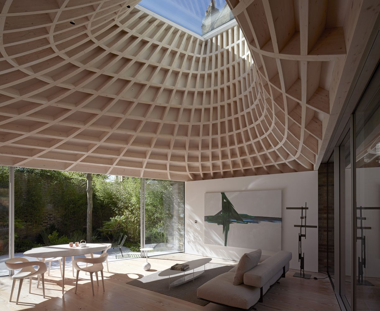Gallery Of House In A Garden Gianni Botsford Architects 1 Copper Roof Architect House London House
