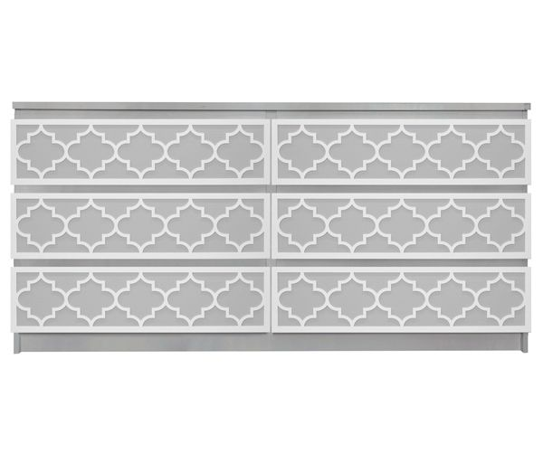 This is one of the greatest things i've seen in a while!--Jasmine O'verlay Kit for IKEA MALM (6 drawer)