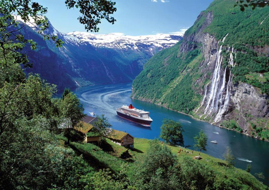 The Geiranger Fjord, Stranda, Norway