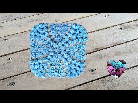 Magnifique granny au crochet Precioso granny tejido a crochet