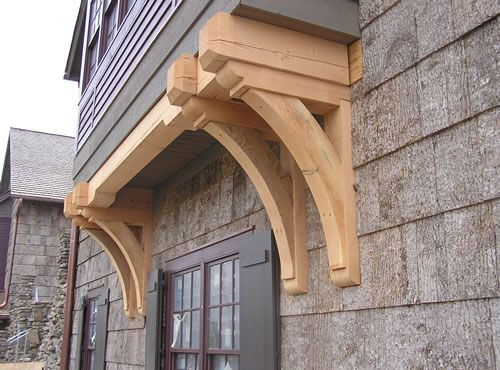 Heavy Timber Brackets Cashiers Nc Traditional Details