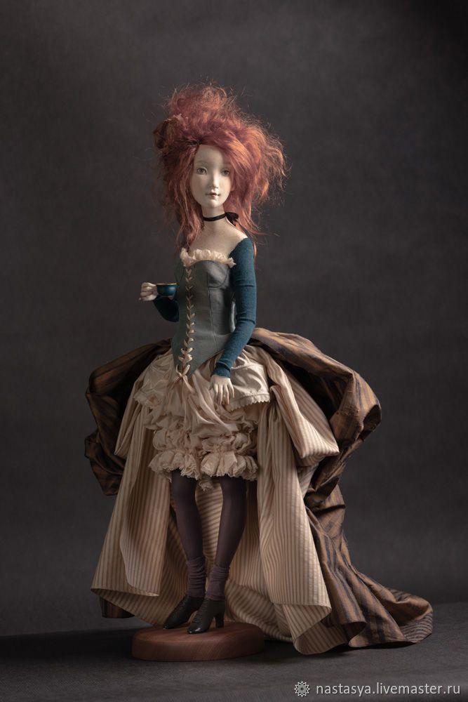 Авторская кукла Джинни – заказать на Ярмарке Мастеров ...