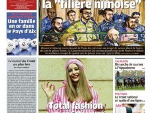 Capucine, fille de l'excentrique Famille Ackermann crée la première tenue estampillée Carpentras... • Hellocoton.fr