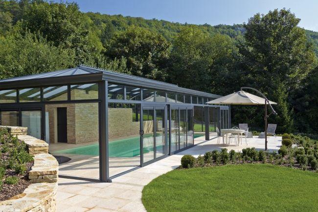 Votre piscine bien couverte Piscine couverte Pinterest