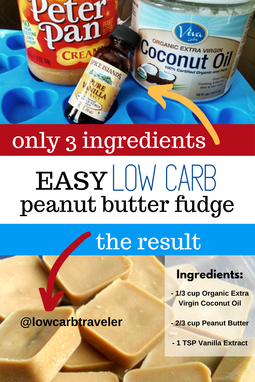 Easy Low Carb Peanut Butter Fudge Recipe