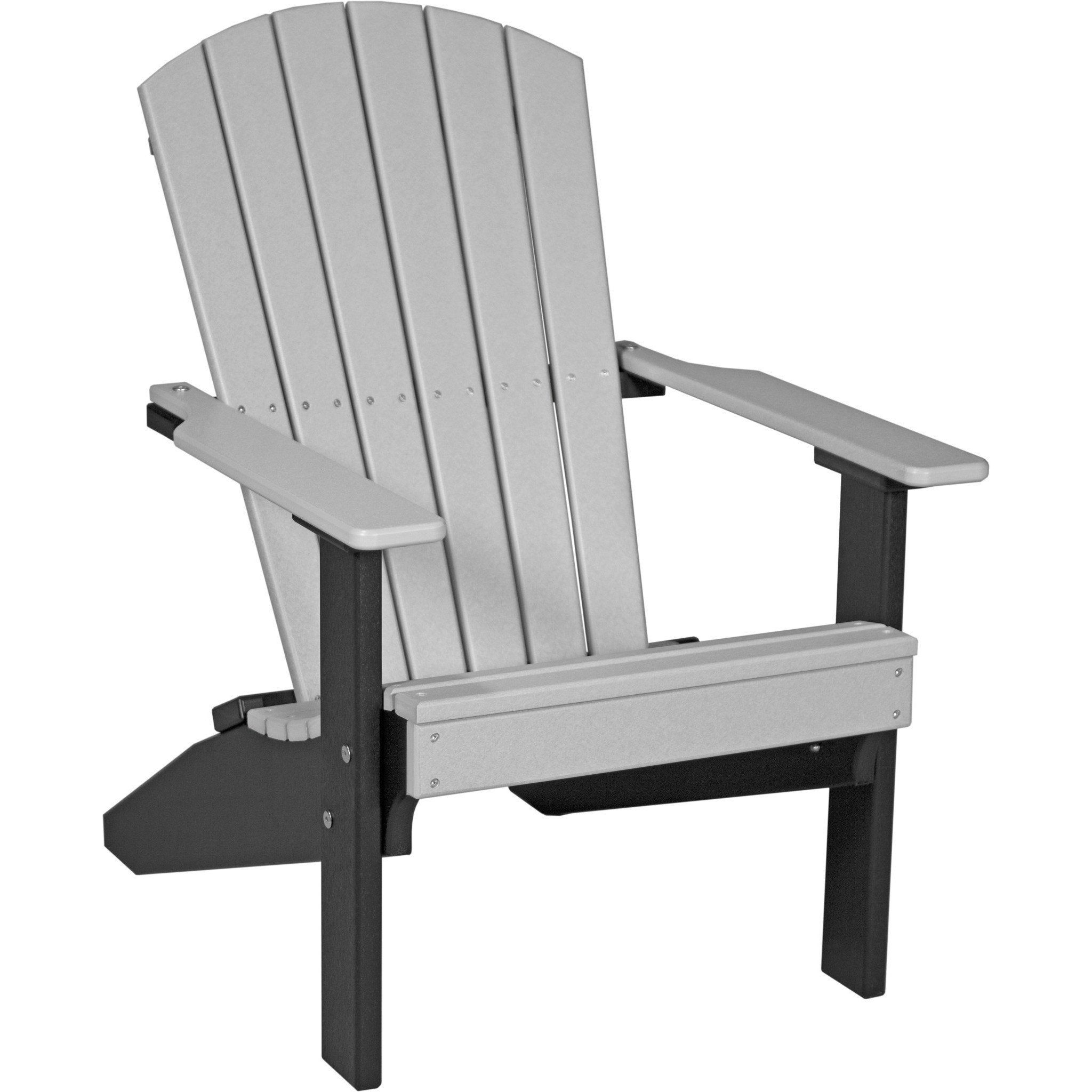 Luxcraft Recycled Plastic Lakeside Adirondack Chair Recycled