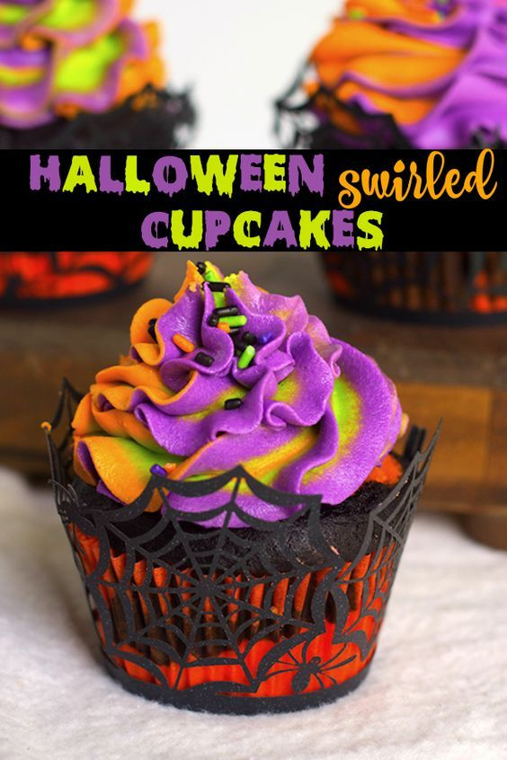 50 Halloween Cupcakes Recipes that are too spooky to be cute #halloweencupcakes