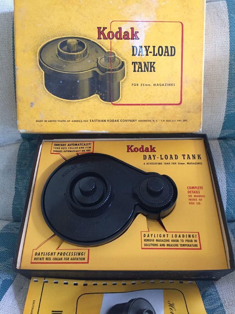 vintage kodak day load tank for 35mm ebay vintage electronics